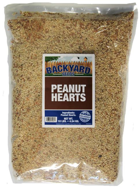 Backyard Seeds Peanut Hearts 10 Pounds