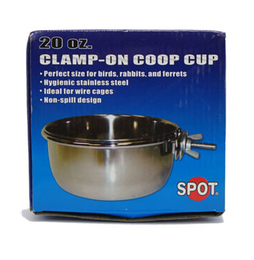 Stainless Steel Coop Cup With Bolt 20oz