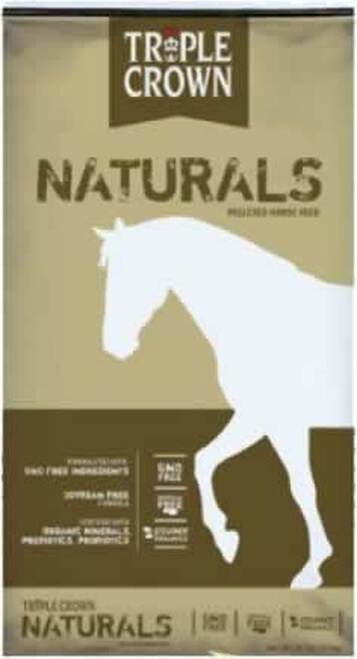 Triple Crown Naturals GMO Free Pelleted Horse Feed (Special Order 2-3 Week Lead Time)