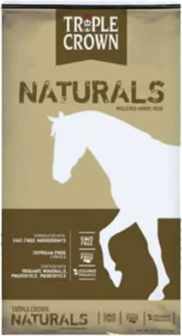 Triple Crown Naturals GMO Free Pelleted Horse Feed