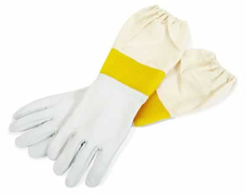 Little Giant Goatskin Beehive Gloves with Sleeves