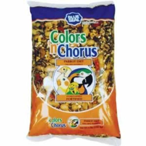 Blue Seal Colors n' Chorus Parrot Diet Bird Food, 40 Lbs.