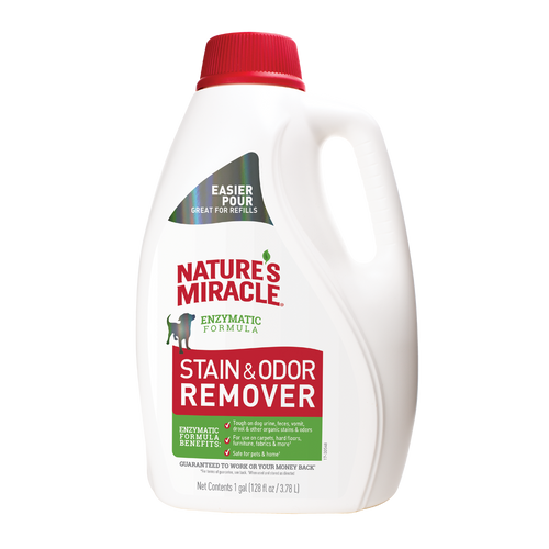 Natures Miracle Stain & Odor Remover Gallon
