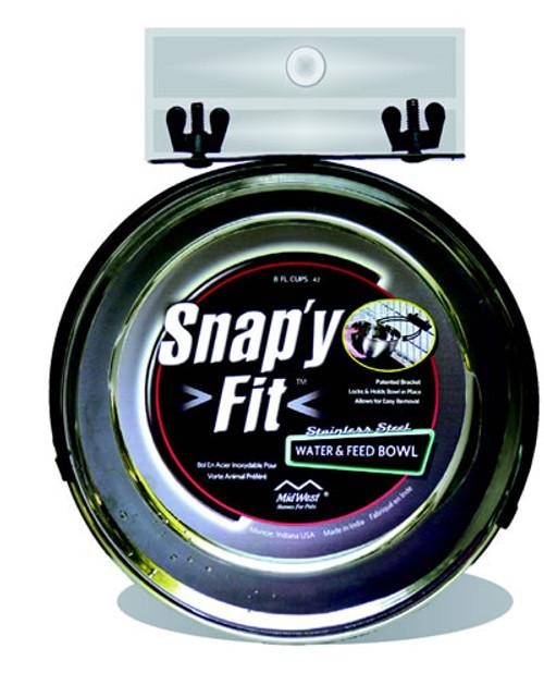 Snap'y Fit Bowl, 2 Quart
