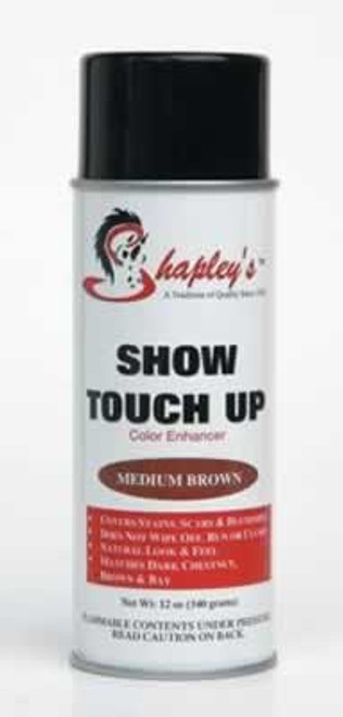 Shapley's Medium Brown Show Touch Up, 12 Ounce