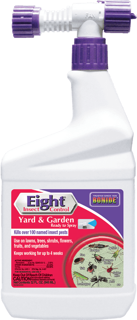 Bonide Eight Insect Control Yard & Garden Insect Spray, 32 Oz.