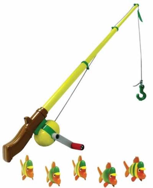 Ertl John Deere Electronic Sounds Toy Fishing Pole