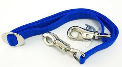 Partrade Horse Adjustable Trailer Tie, Blue