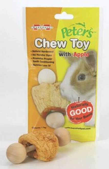 Peters Toy Rabbit Chew With Apple