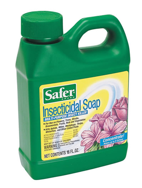 Safer Insecticidal Soap Concentrate 16 Ounces