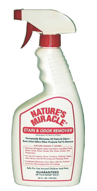 Natures Miracle Stain & Odor Remover 24oz