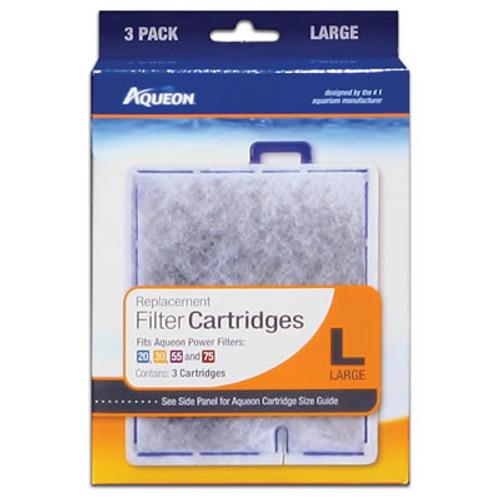Aqueon Cartridge, Large/3 Pack