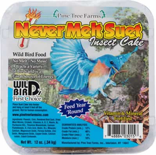 Pine Tree Farms Insect Cake Never Melt Suet