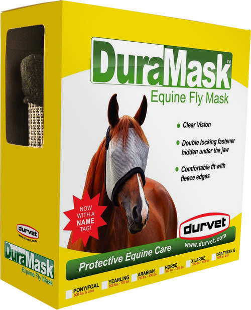 Durvet Duramask Horse Fly Mask