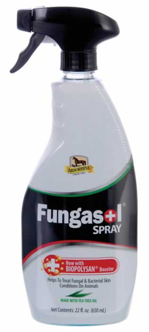 Absorbine Fungasol Spray Bottle for Horse Skin & Coat Health 22 Ounces