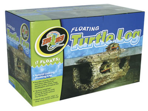 Floating Turtle Log