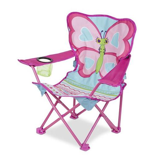 Melissa & Doug Cutie Pie Butterfly Child's Outdoor Chair