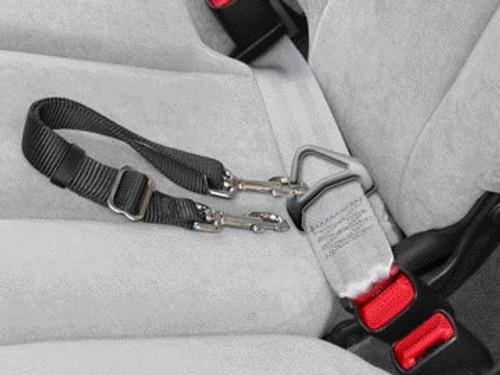 Adjustable Seatbelt Leash With Snap