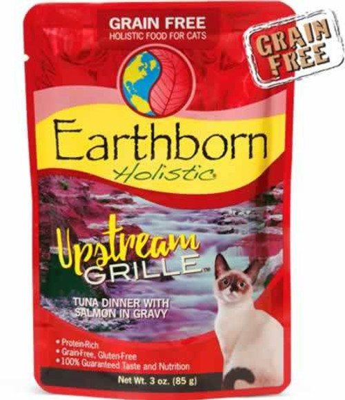 Earthborn Upstream Grille Cat Food Pouch 3 Ounces