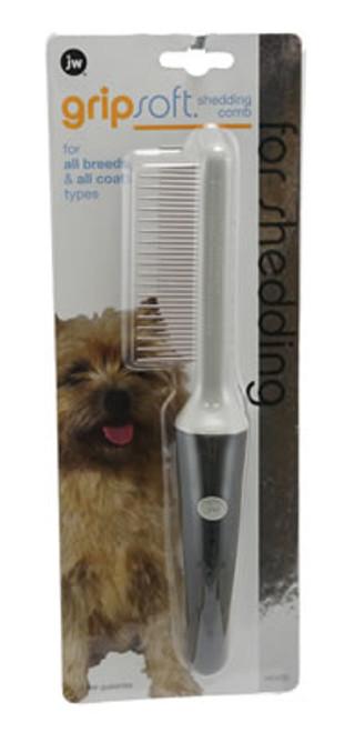 JW Pet Grip Soft Shedding Comb