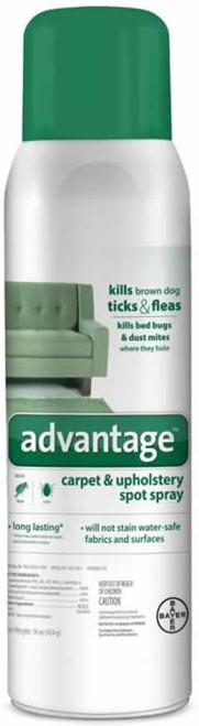 Advantage Carpet & Upholstery Spot Spray Flea & Tick Control 16 Ounces
