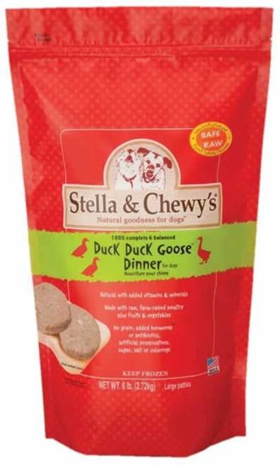 Stella & Chewys Duck Duck Goose Frozen Dinner, 6 Pounds