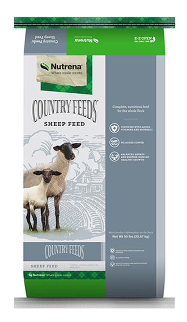 Nutrena Country Feeds 14% Textured Sheep Feed 50 Pounds