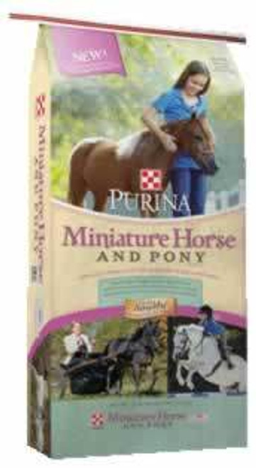 Purina Miniature Horse and Pony, 50 Lb.