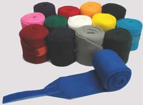 Deluxe Acrylic Knit Stall Bandages, Black