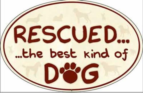 Dog Speak Rescued the Best Kind of Dog Magnet