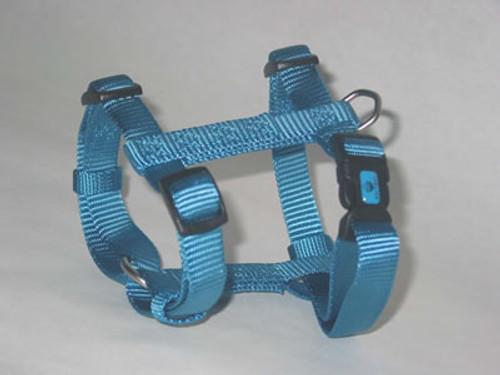Hamilton Large Adjustable Nylon Comfort Harness, Ocean Blue