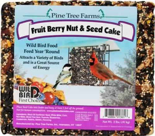 Pine Tree Farms Fruit Berry Nut & Seed Cake