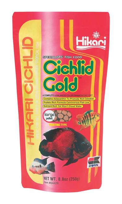 Hikari Cichlid Gold Large, 8.8 Ounce