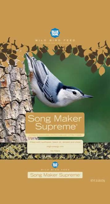 Blue Seal Song Maker Supreme Bird Seed, 40 Lb.