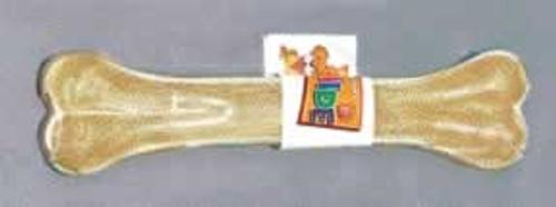 Pressed Rawhide Bone, 8 Inch