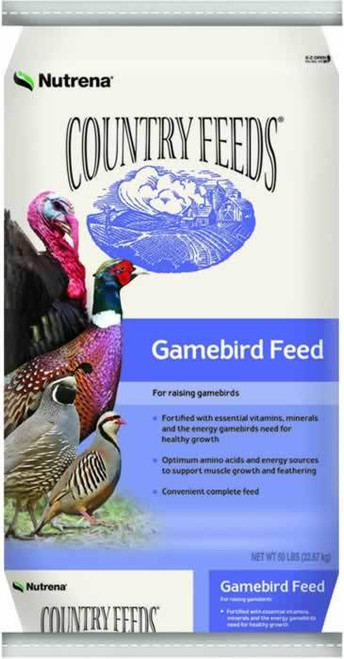 Nutrena Country Feeds Gamebird Turkey Starter Crumble 50 Pounds