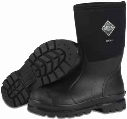 Muck Boots Chore Boot Mid All-Condition Work Boot Men's 8/Women's 9