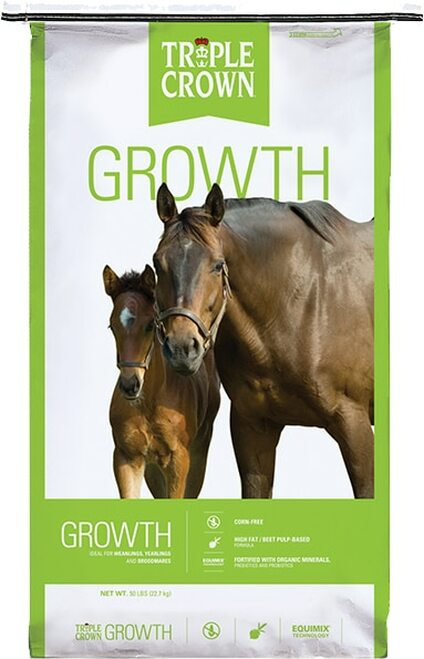 Triple Crown Horse Growth Formula, 50 Lb.