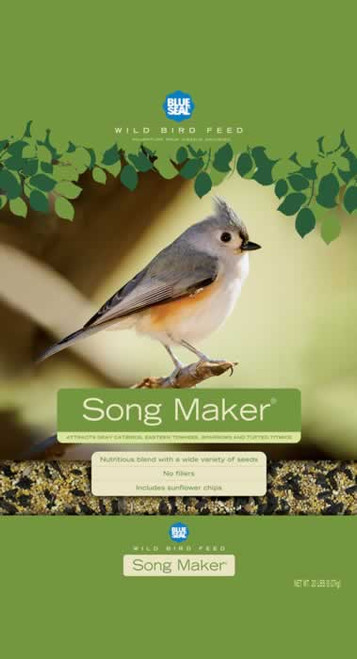 Blue Seal Song Maker Bird Seed, 40 Lb.