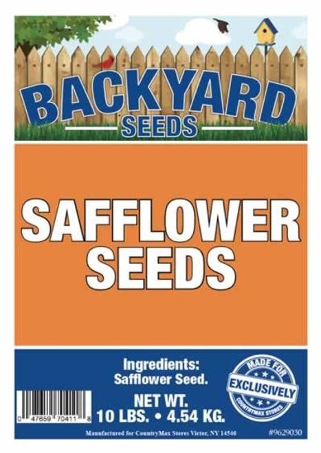 Backyard Seeds Safflower Bird Seed 10 Pounds