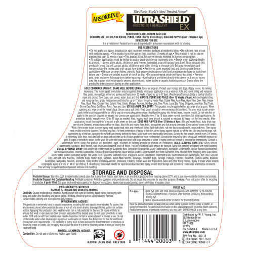 Absorbine Ultrashield EX Refill, Gallon