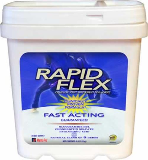 Manna Pro Rapid Flex Equine Joint Supplement 4 lbs.