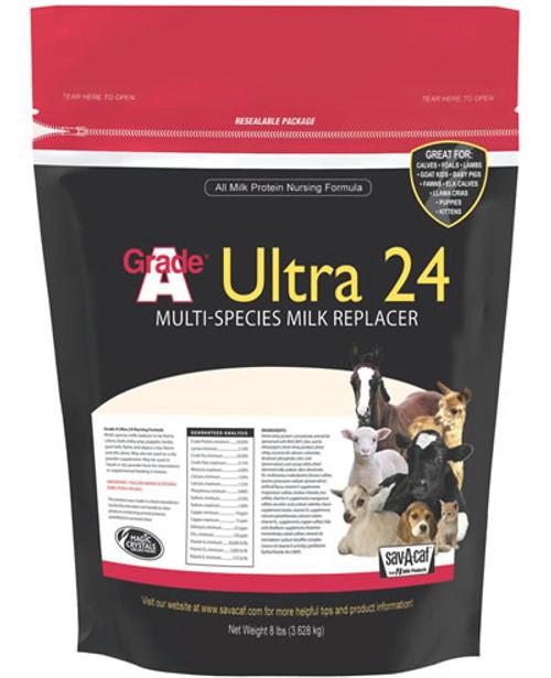 Ultra 24% Milk Replacer - 8 lbs.