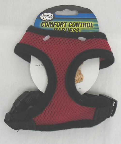 Four Paws Red Comfort Control Harness