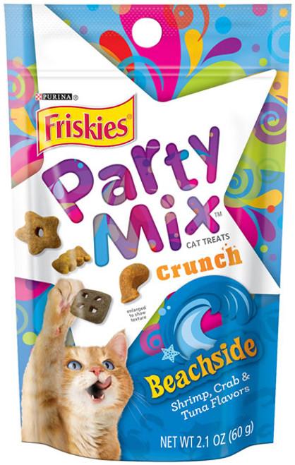 Friskies Party Mix Crunch Beachside Cat Treats 2.1 Oz.