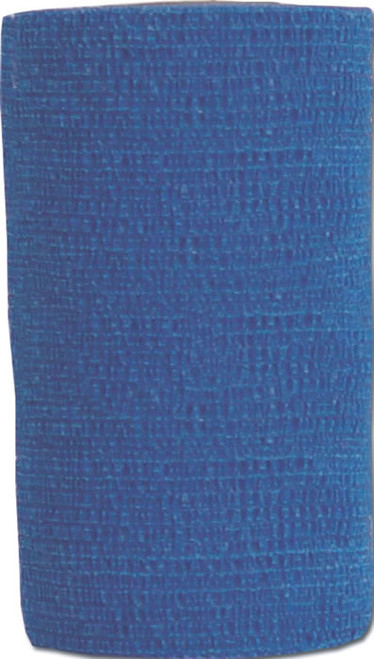 "Powerflex Equine Bandage, Blue, 4"" x 5 yards"