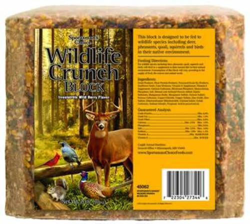 Sportsman's Choice Wildlife Crunch Block, 20 Pounds