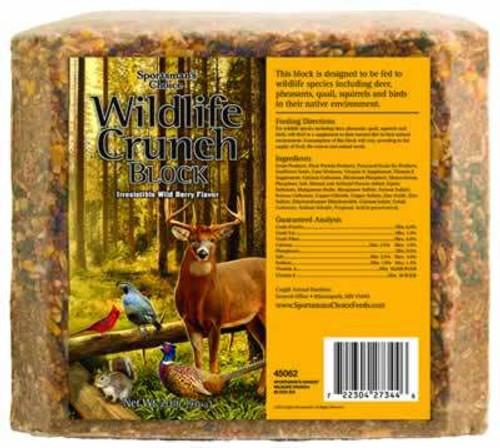 Sportsman's Choice Wildlife Crunch Block, 20 Pounds