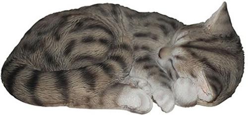 Nature's Gallery Sleeping Tabby Cat