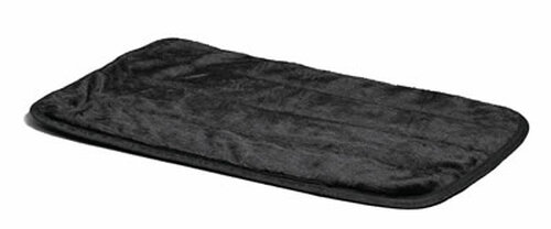 Black Deluxe Pet Mat, 43x28 Inch
